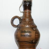 keraminis butelis bobutės trauktinė
