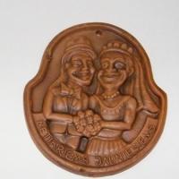 Molinis medalis netikriems jauniesiems, vestuviu atributika