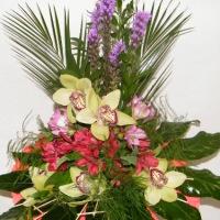 orchideju puokste, geles internetu