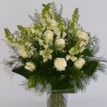 gėlių puokštė į namus