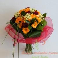 puokštė į namus, gėlių pristaymas