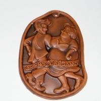 Molinis medalis geriem šokėjam
