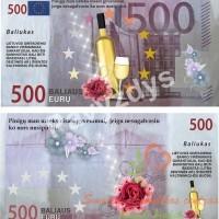 baliaus pinigai, eurai