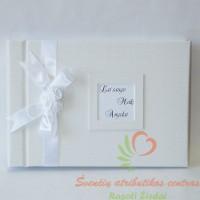 vestuvių albumas, palinkėjimų knyga