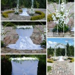 arka, botanikos sodas, vestuves