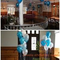 Balionai, balionų dekoracijos