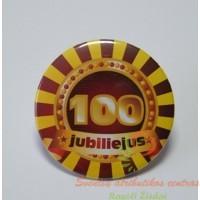 zenkliukas 100 metu, apdovanojimas, gimtadienio atributika, jubiliejaus atributika