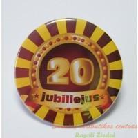 zenkliukas 20 metu, apdovanojimas, gimtadienio atributika, jubiliejaus atributika