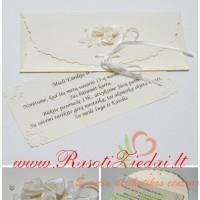 vestuviu kvietimas vokelyje