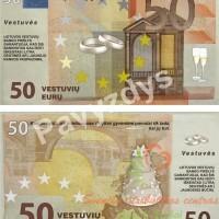 baliaus pinigai, eurai, baliaus atributika, baliaus pinigai, vestuviniai pinigai