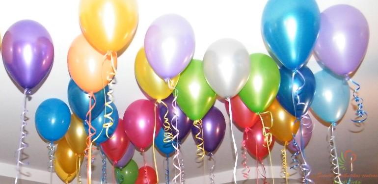 Helio balionai išleistuvėms