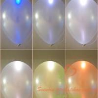 balionai su led lempute