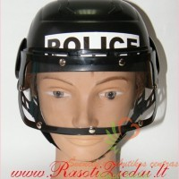 vakarėlių kaukės, kaukių balius, policininko šalmas