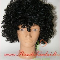 perukas, negro šukuosena