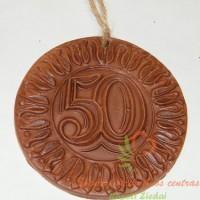 molinis medalis, jubiliejinis medalis