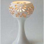pocelianinė žvakidė