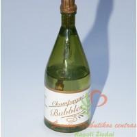 muilo burbulai šampanas