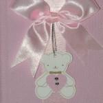 krikštynų palinkėjimų knyga slbumas rožinės spalvos