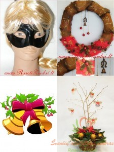 Kalėdos, Naujieji Metai, atributika