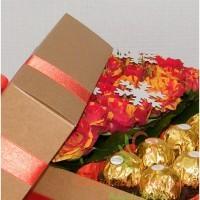 kompozicija dėžutėje kalėdinė