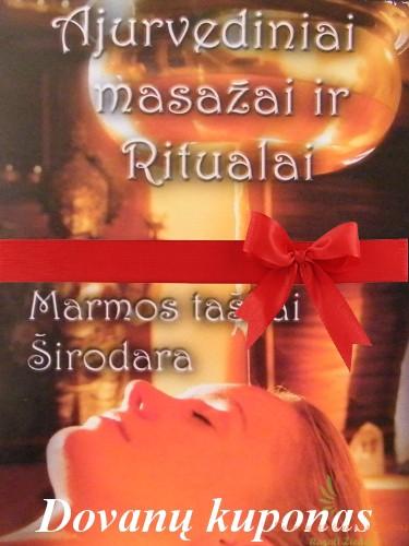 dovanų kuponas masažui