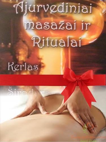 Nugaros masažo dovanų kuponas