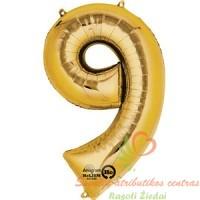 Auksinis balionas skaičius