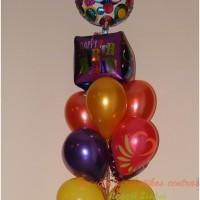 balionų puokštė