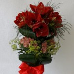 Amarilių puokštė puiki dovana vyrui, tėčiui, bendradarbiui, Tėvo dienos, gimimo dienos proga.