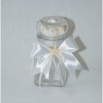 stiklinis indas smėlio ceremonijai