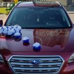 Automobilio papuošimas vestuvėms