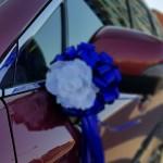 Automobilio papuošimas kaspinas