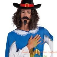 priklijuojami ūsai, ispaniški ūsai, ispaniška barzda, vakarėlis, kaukės