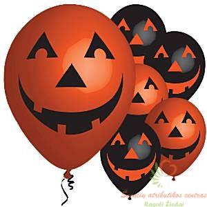 Helovino balionai