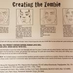 zombis makiažas, helovinas