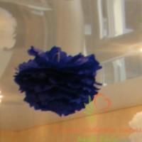 pompoms, šilkinio popieriaus pūkuotis