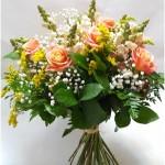 puokštė Mano jausmai, gėlės į namus, gėlės internetu gimtadienio puokštė