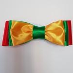 geltona žalia raudona peteliškė, lietuviška atributika