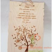 medinė dovana tėveliams, vestuvių proga