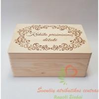 Kriksto prisiminimų dėžė, krikštynų kraitelis, krikštadėžė