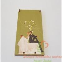 medinis vokelis sveikinimui, pinigų vokelis, dovana, gimtadienio dovana, krikštynų dovana, vestuvių dovana, progai, šventei, atributika dovanų, pinigai dovana