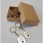 raktų pakabukai, dovana seneliam krikštynų proga
