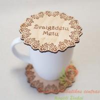 padekliukai kavos puodeliui su palinkejimais