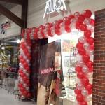 balionų arka, balionų pynė, balionų dekoracija, dekoravimas balionais