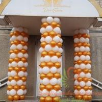 balionų arka, balionų pynė, balionų dekoracija, dekoravimas balionais, balionų girlianda
