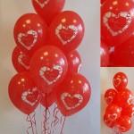balionu puokste myliu tave valentino dienos proga