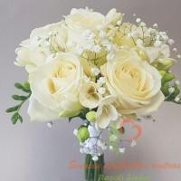 vestuvių floristika, jaunosios puokštė, vestuvių puokštė