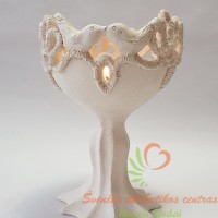 Šamotinė žvakidė, aukuras, šeimos židinys