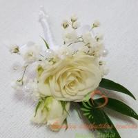 vestuvių floristika, jaunojo įsegimas, butonjete, vestuvių puokštė
