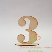 Stalo susodinimo planas, pastatomi stalo skaičiai, stalo numeris